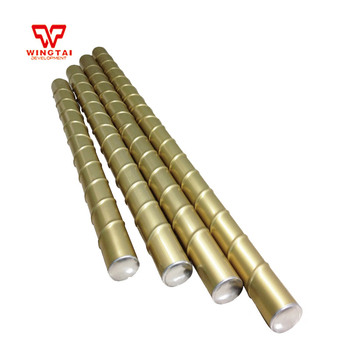 Customizable Integrated Gold Magnetic Ink Roller With Ripple For Printing Machine L900mm~1000mm*D42mm