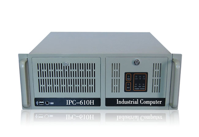 4U chassis IPC-610H 4U industrial industrial chassis AT ATX 14 7 slot industrial control motherboard pig1 0 motherboard ai 4u chassis 14 slot 12 pci floor gtb6022 14g 100