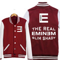 Eminem Hoodie Hip Hop Jacket Coat Spring Autumn Men Baseball Sweatshirt