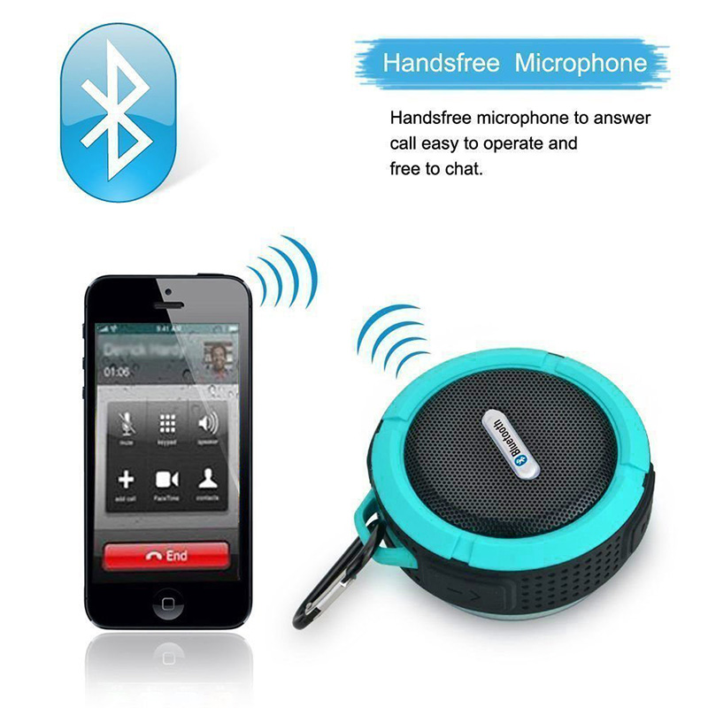 Factory wholesales Mini Waterproof Outdoor Wireless Car  Speaker bluetooth altavoz for iPhone xiaomi  Huawei Samsung LG