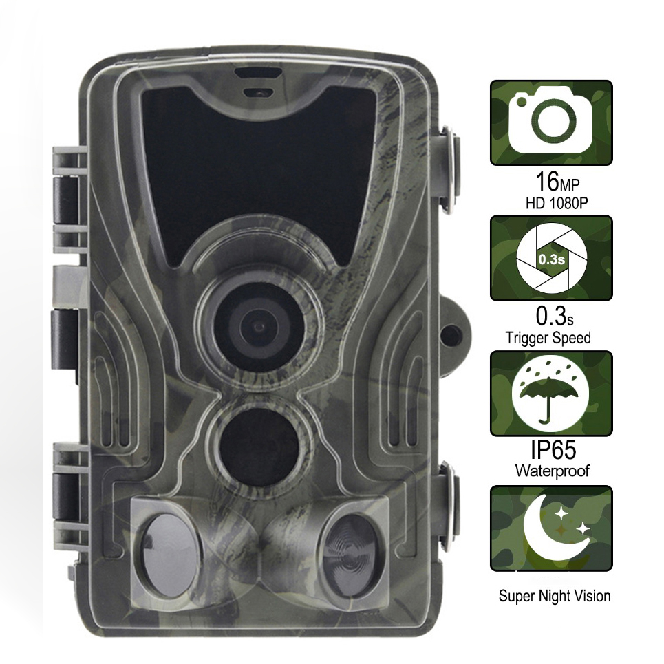 HC 801A Hunting camera Night Vision Trail cmaera 1080P IP65 waterproof scout forest animal Surveillan wildlife