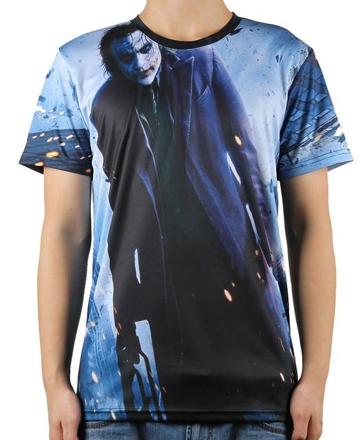 Célèbre Summer Fashion Printed Batman Joker 3D T Shirt Men Top Tees Swag  DA53