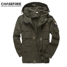 Men Military Style Tactical Jackets For Men Pilot Coat US Army 101 Air Force Bomber Jacket Coat(China)