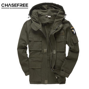 48ce2467fba CHASEFREE Military Jackets For Men Bomber Jacket Coat