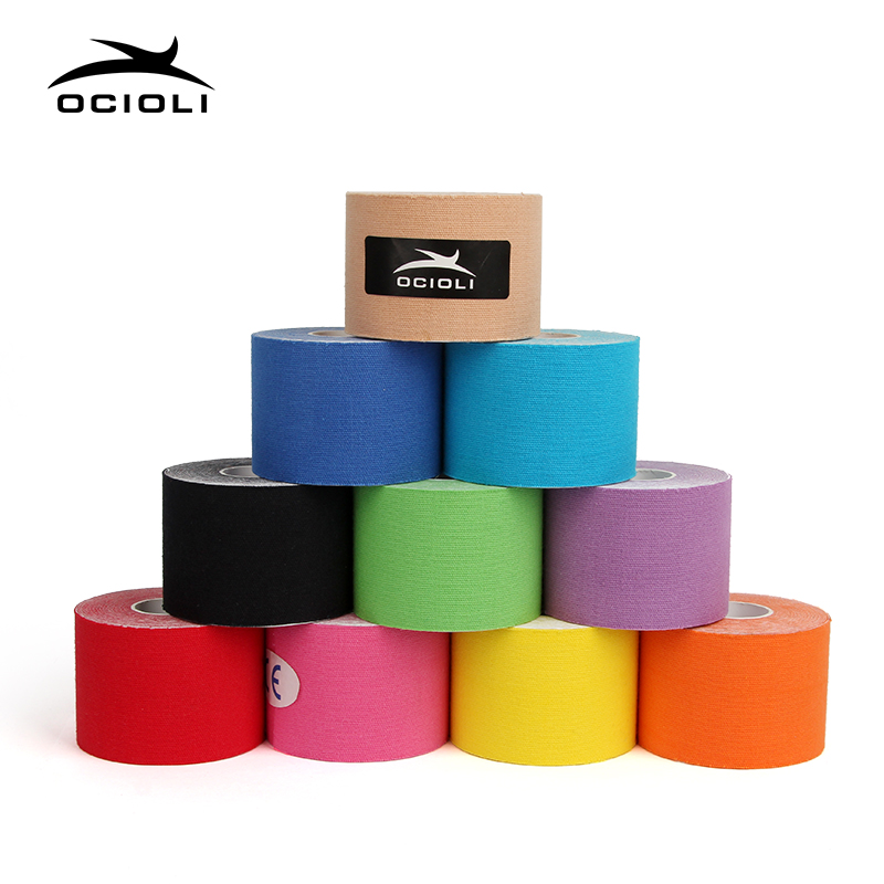 10 Rolls Kinesiotape Tex Tape Athletic Tapes Kinesiology Sport Taping Strapping Good Quality Football Exercise Muscle