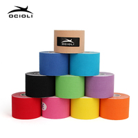 10 Rolls Kinesiotape Tex Tape Athletic Tapes Kinesiology Sport Taping Strapping Good Quality Football Exercise Muscle Tape