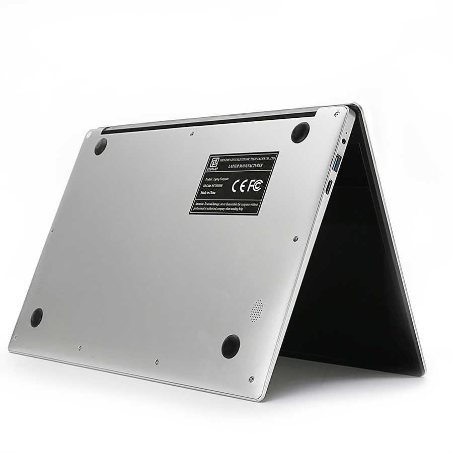 15.6 polegada Intel Atom CPU Quad Core Ultrafino Ultrabook Windows 10 Sistema 1920*1080P Tela FHD WIFI Laptop notebook Computador