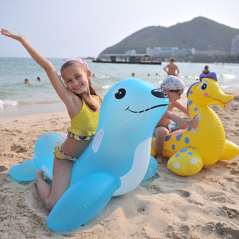 New Summer Swimming Children Inflatable Float Lap Water Riding Toys Sea Pool  Kid Swimming Circle Seat Boat Play Rubber Fun Hot In Menu0027s Costumes From ...