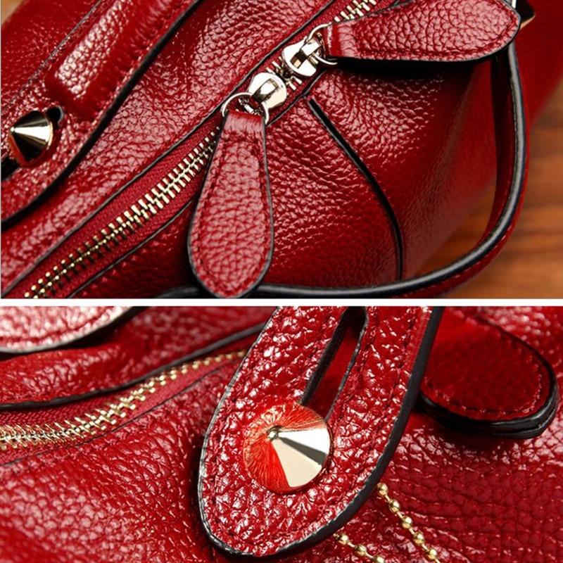 Baganta e grave e modës jastëk lëkure e butë Womenanta dore - Çanta dore - Foto 4