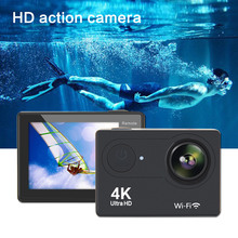 Underwater Camcorder Sports & Action Video 4K fps Helmet Wifi Water proof Camera 170D Wide Angle Fisheye Lens + Accessories 02