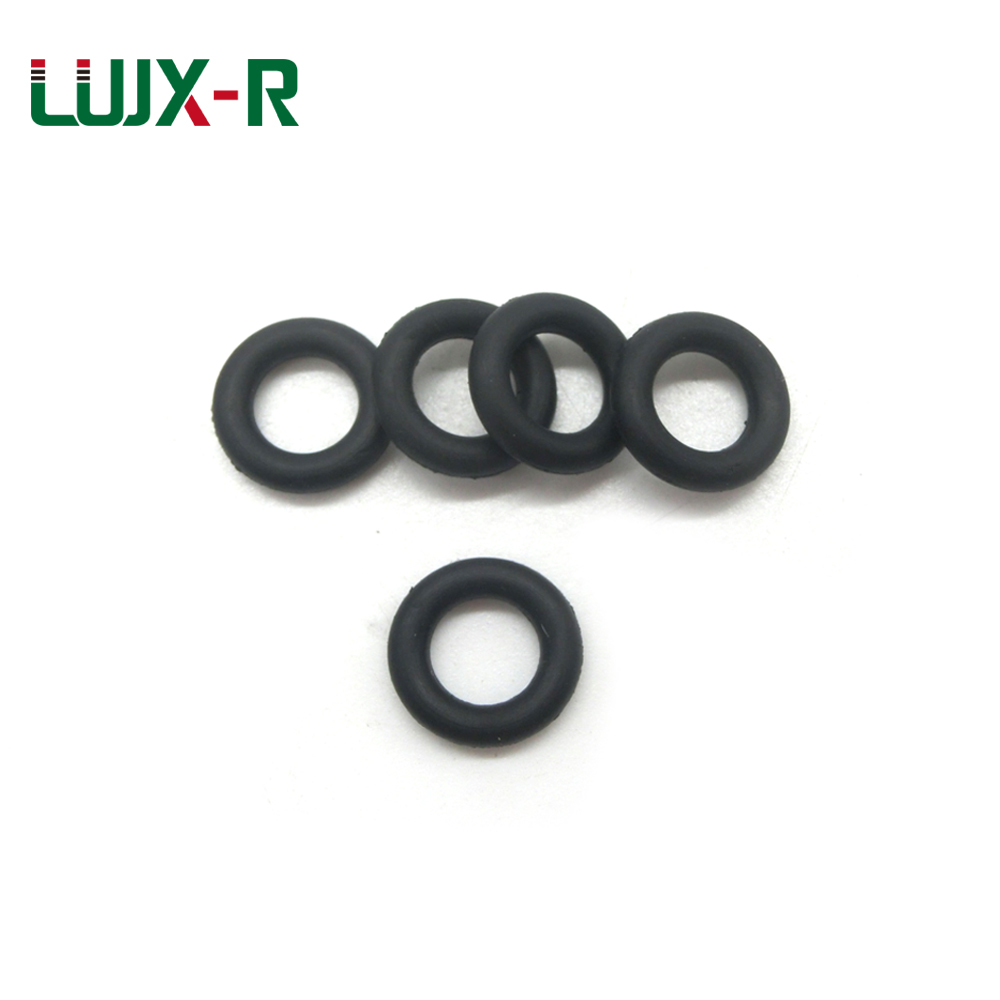 6mmx2mm Nitrile Rubber Sealing O Ring Seal Washer Grommets 100 Pcs