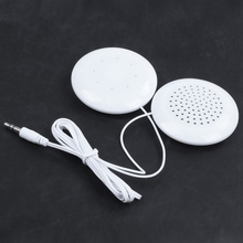 3.5 mm plug Universal Mini Neck Pillow Speaker For iPhone iPod  MP3 MP4 Player Accessories Sound Box цена