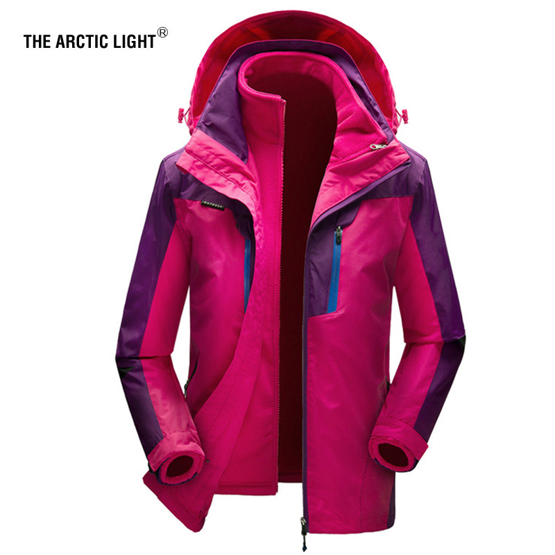 THE ARCTIC LIGHT Ski Jacket Men s Women s Water Proof Breathable Thermal Snowboard Out Coat