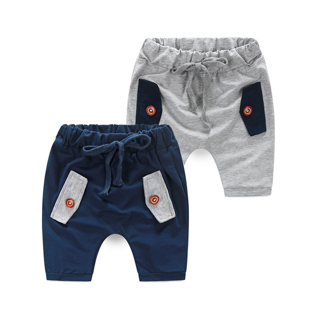 286f4480079a US $10.95 |Baby Boys Drawstring Capris Pants 2 9 Years Age Toddler Boys  Pants Summer Cotton Sport Pants Children Kids Pockets Trousers-in Pants  from ...