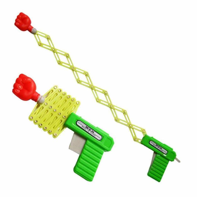 Забавная игрушка-пистолет для детей Magic Prank выдвижной пистолет-кулак детский лучший подарок