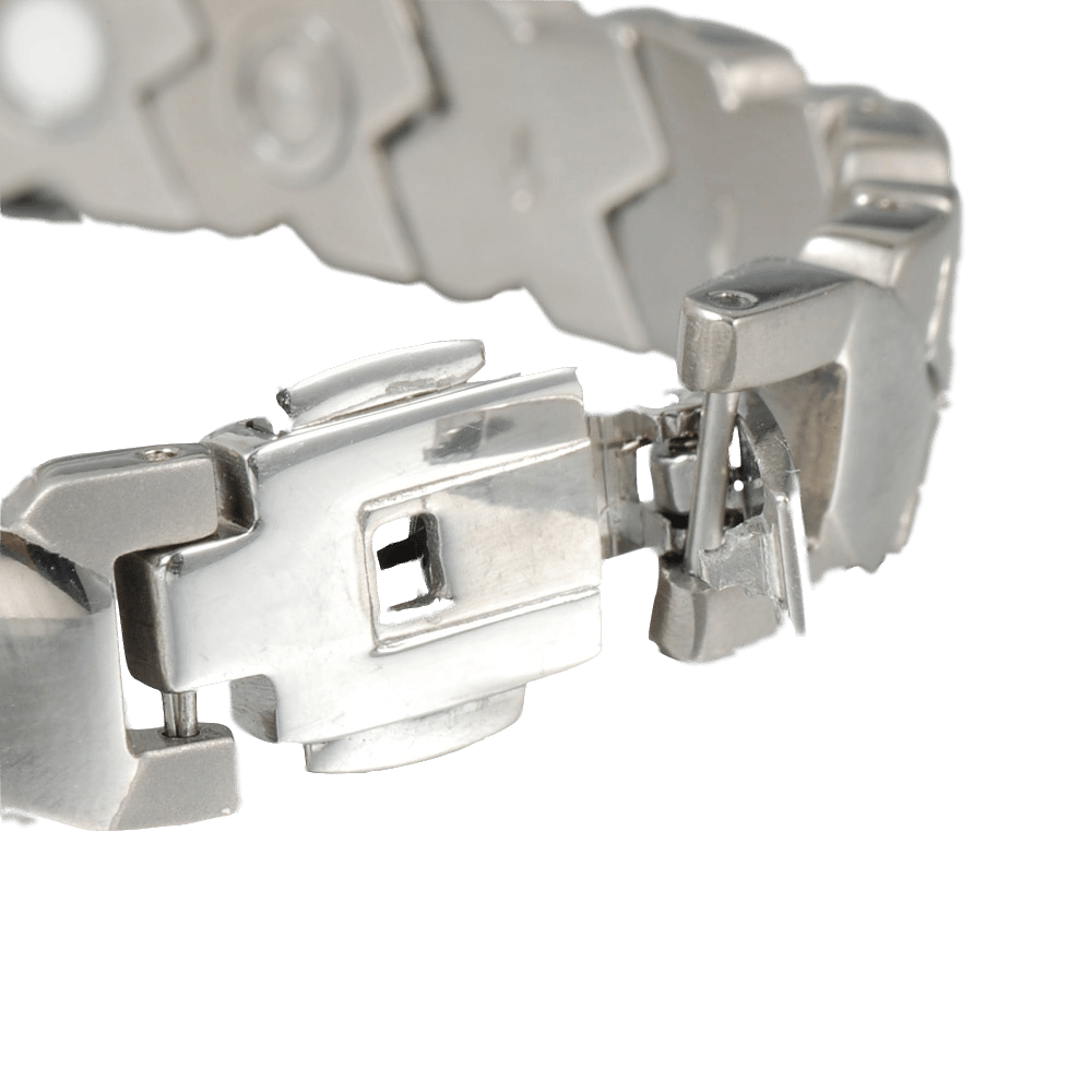 Bizhuteri Wollet Titanium byzylyk Magnetik për Gratë Burra Infra - Bizhuteri të modës - Foto 4