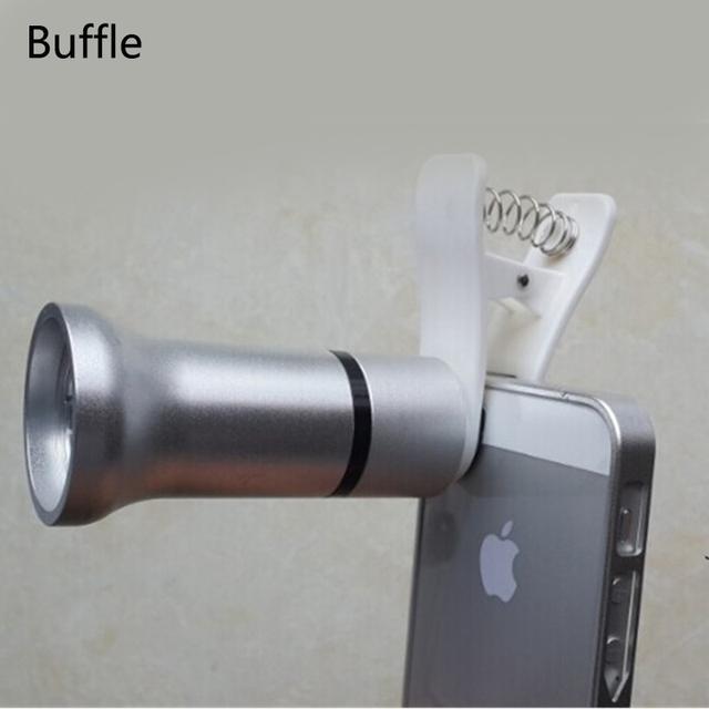 1 unids universal para iphone 5 5s 6 7, además de flores y Los Insectos Cubierta Lente de Microscopio Lupa Cámara del teléfono Móvil Envío de La Gota
