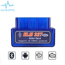 Elm327 V1.5 Bluetooth OBD2 Scanner Diagnose Auto Elm327 1,5 OBD 2 Ulme 327 Auto Diagnose Werkzeug ODB2 Auto Scan Adapter(China)