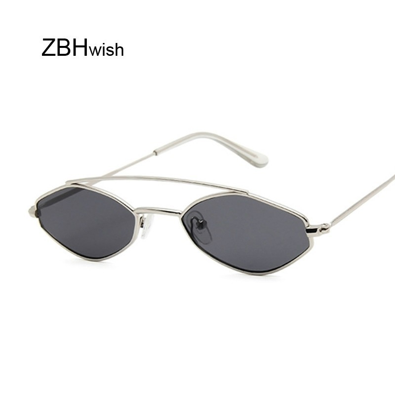 2020 Women Cat Eye Sunglasses Cute Sexy Brand Designer Summer Retro Small Frame Black Red Cateye Sun Glasses