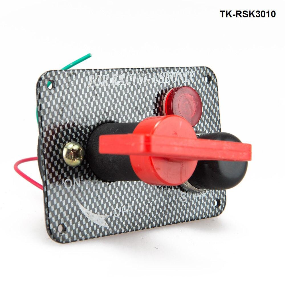 Racing Schalten Kit Auto Elektronik//Schalter Schalter-flip-up-start//Zündung//Zubehör TK-RSK3010