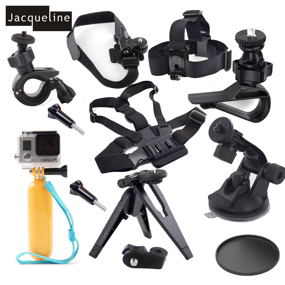 Jacqueline for ION Air kit Accessories For Pro Sony Action for Veho VCC-006-K1 for Midland for Polaroid XS100/XS80 Sports cam