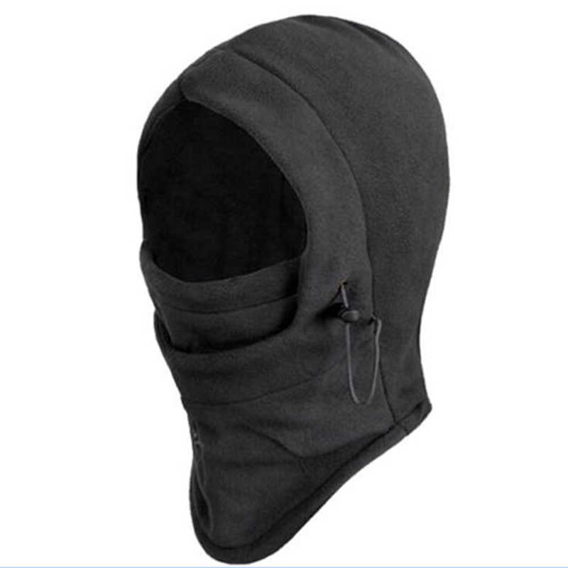 1PCS Anti-cold Windproof Balaclava Hat Hooded Neck Warmer Winter Sports Face Mask for Men Ski Bike Motorcycle Helmet Masked cap