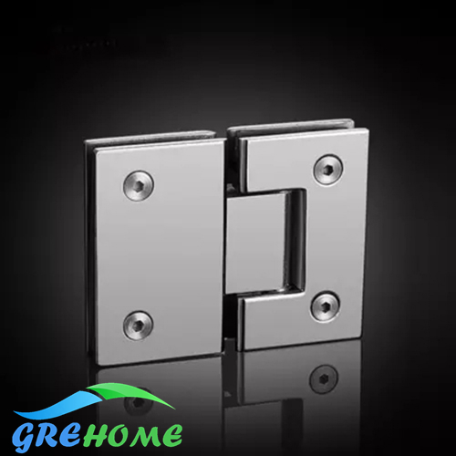 Brushed mirrored 180 Degrees open glass door hinges 304 Stainless Steel Wall Mount Glass Shower Door Hinge glass clamp 2pcs wall to glass door hinge stainless steel cabinet glass hinges clamp fit 8 10mm glass door pivot hinge clamps for shower