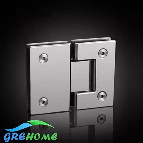 Aliexpress Buy Brushed Mirrored 180 Degrees Open Glass Door