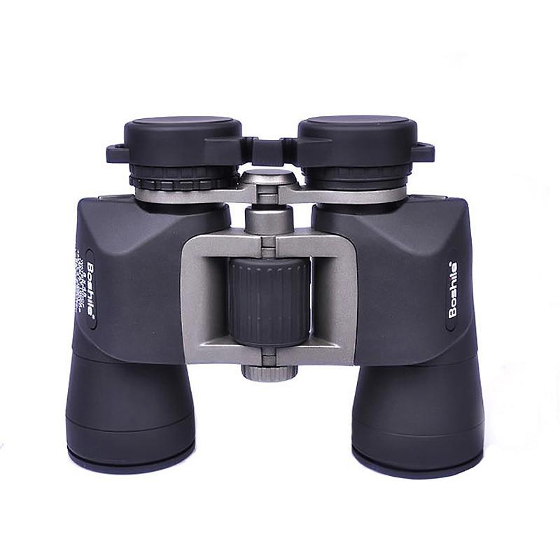 Compact 8x45 Binocular Telescope Black HD Waterproof lll Night Vision Binoculars Wide-angle Outdoor Camping Hunting Telescopes