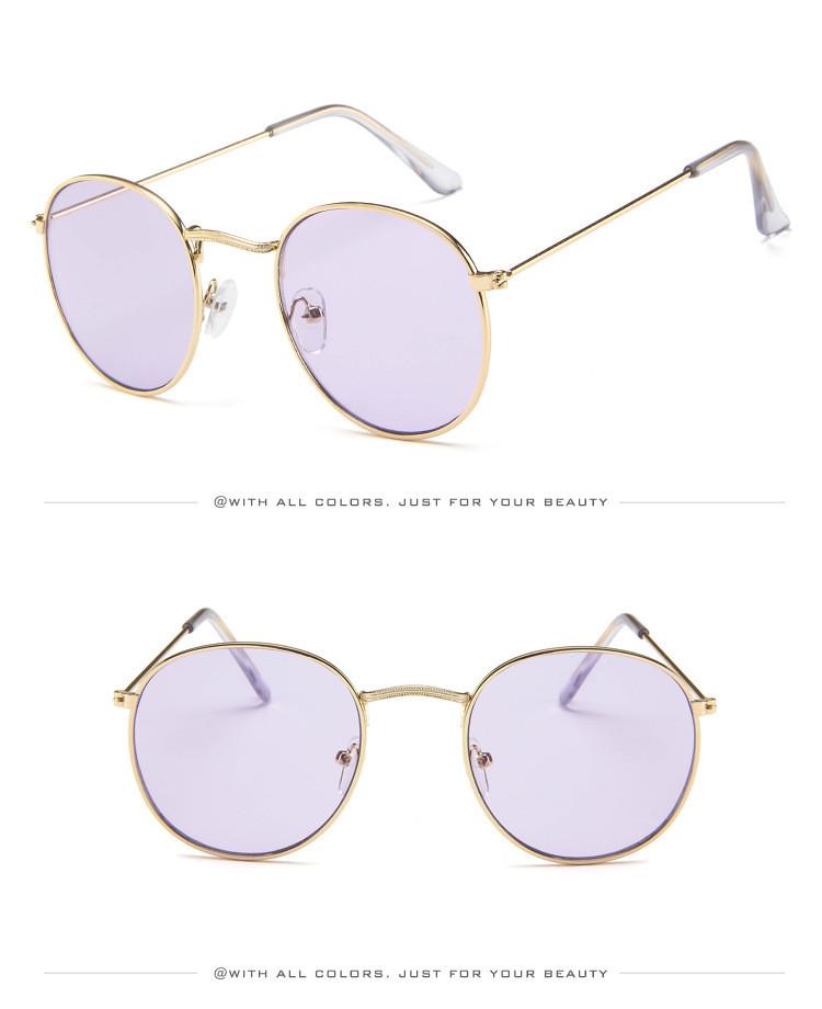 DJXFZLO Retro gafas de sol ovaladas vintage 12