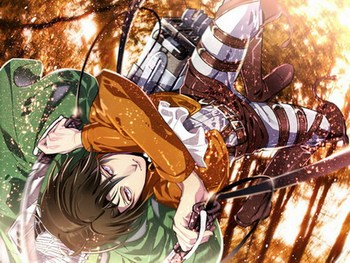 Attack On Titan Anime Rivaille 150*200CM Single-layer Blanket #37532