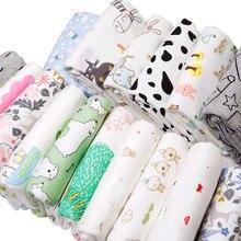 2019 новая хлопковая трикотажная ткань с принтом хлопковая ткань Джерси для DIY шитья uphostery Детская Хлопковая одежда