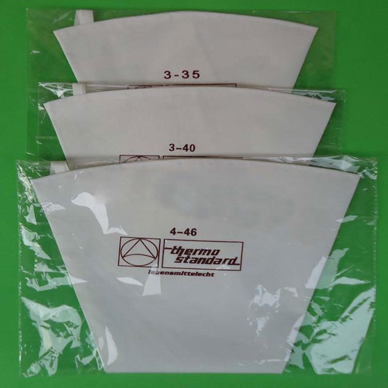 100% algodón crema pastelería glaseado bolsa 35/40/46/50/55/60 cm - Cocina, comedor y bar - foto 2