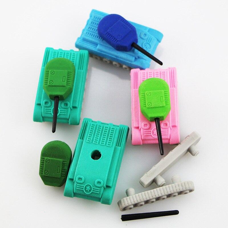 Tank Eraser Novelty Tank Eraser For Boy 30pcs/lot