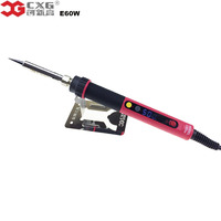 Electric Soldering Iron EU Plug Adjustable NC Thermostat Electric Digital LCD Soldering Iron CXG E60W Soldering