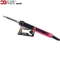 Electric Soldering Iron EU Plug Adjustable NC Thermostat Electric Digital LCD Soldering Iron CXG E60W Soldering