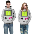 Game boy Hoodie 3d printed sweatshirts Front Pocket Drawstring winter coat men women tops clothing brand hooded hip hop style