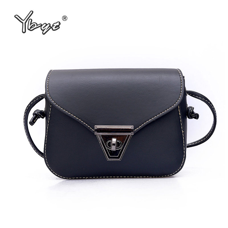 YBYT brand 2017 new fashion casual solid hasp women flap hotsale ladies cell phone coin purses shoulder messenger crossbody bags  недорого