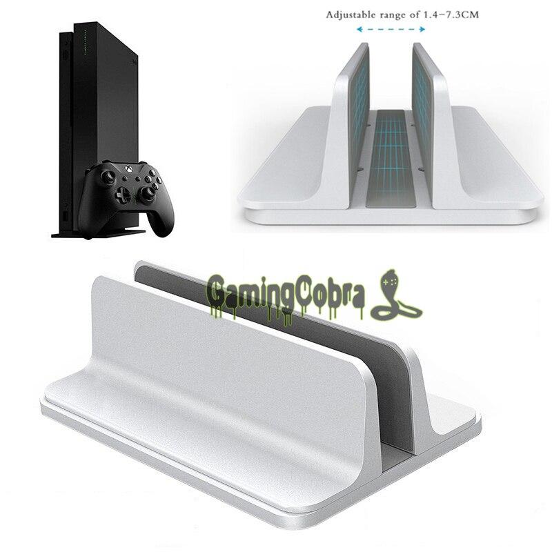En Alliage d'aluminium En Métal Titulaire de Vertical Stand Support de Fixation Pour Xbox One X Jeu Console