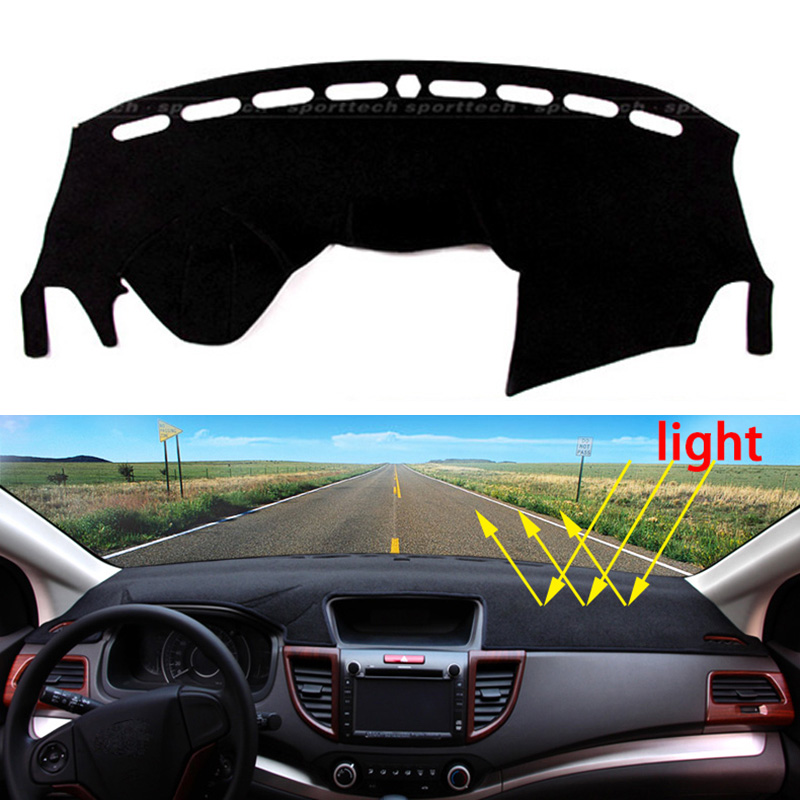 Car dashboard Avoid light pad Instrument platform desk cover Mats Carpets Auto accessories for Ford kuga 2013 - 2016