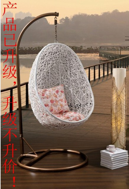 Outdoors Egg Shaped Chairs Suspended Basket Chairs Suite Nest Swing Rattan  Chair Rocking Chair
