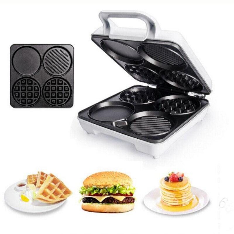 Germany household Multi-function Waffle machine Muffin maker Pancake machine Breakfast machine Toaster Mini cake machine