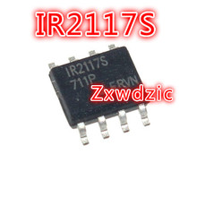10PCS IR2117S SOP-8 IR2117 SOP8 IR2117STRPBF SOP New Original 5pcs tlv5618aidr sop8 tlv5618 sop ty5618 smd digital to analog converters new and original free shipping
