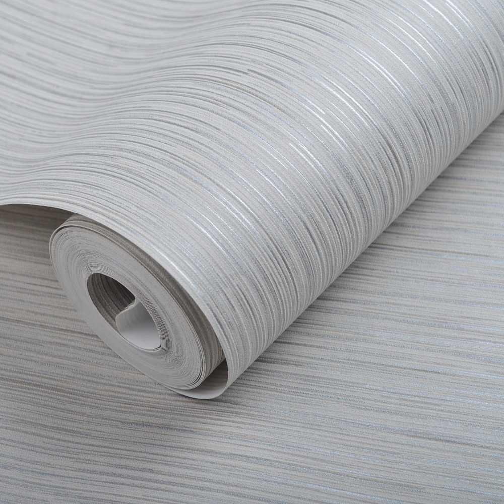 Полосы серебристо-серая текстура стены рулон бумаги для спальни светло-серая настенная бумага декор комнаты