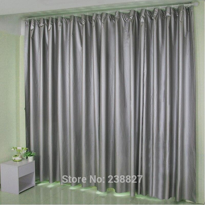 blackout vorhange fur wohnzimmer schlafzimmer fenster vorhang silber sonnencreme rideau anti uv beschichtung cortinas rideaux pour le salon