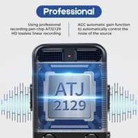 Professionelle Diktiergerät Digital Voice Recorder Chip Mini Kanzler HIFI Stereo Sound Mikrofon Telefon Aufnahme