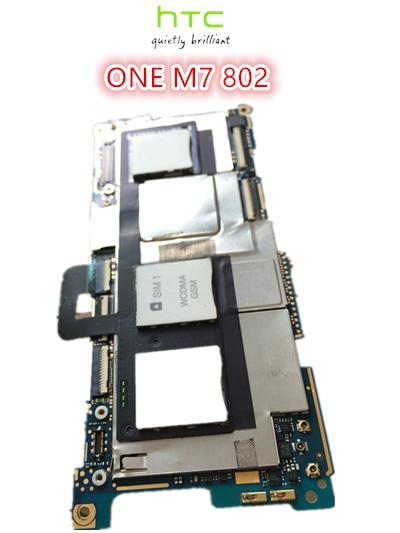 ФОТО Unlock Good quality Original Motherboard For HTC  ONE M7 802 DUAL Mainboard  Board Free Shipping