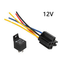 1PC Waterproof Automotive Relay 12V 40A 5Pin Car Relay 12v 4
