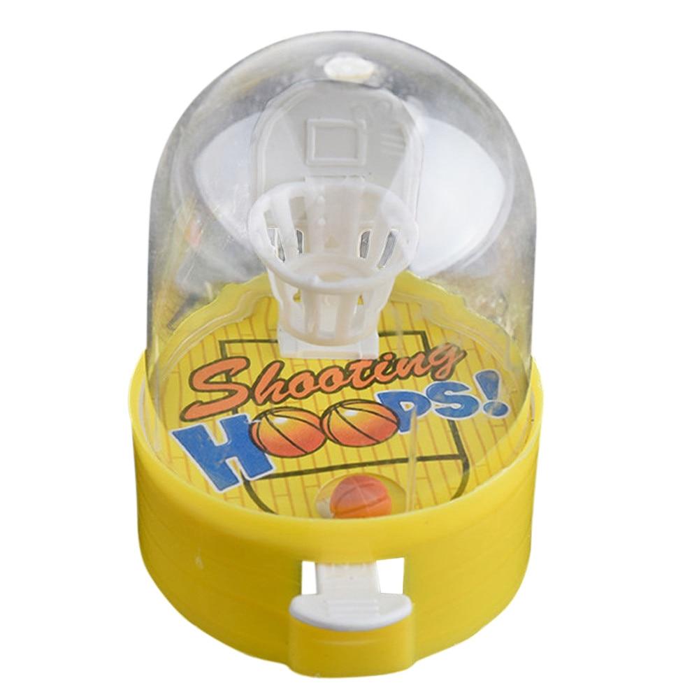 Funny Developmental Basketball Machine Anti-stress Player Handheld Education Children Toys Gift Stress Reliever Lowest Price
