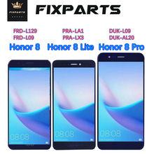 цена на Huawei Honor8 Pro LCD Display Touch Screen Digitizer For Huawei Honor 8 Lite LCD 8pro DUK L09 PRA TL10 LA1 LX1 LX3 FRD L09 L19